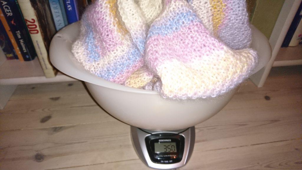 Genser målt i gram