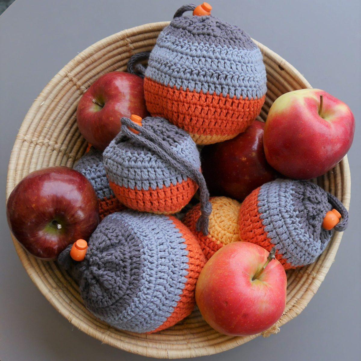 Oppskrift på eplefraktpose