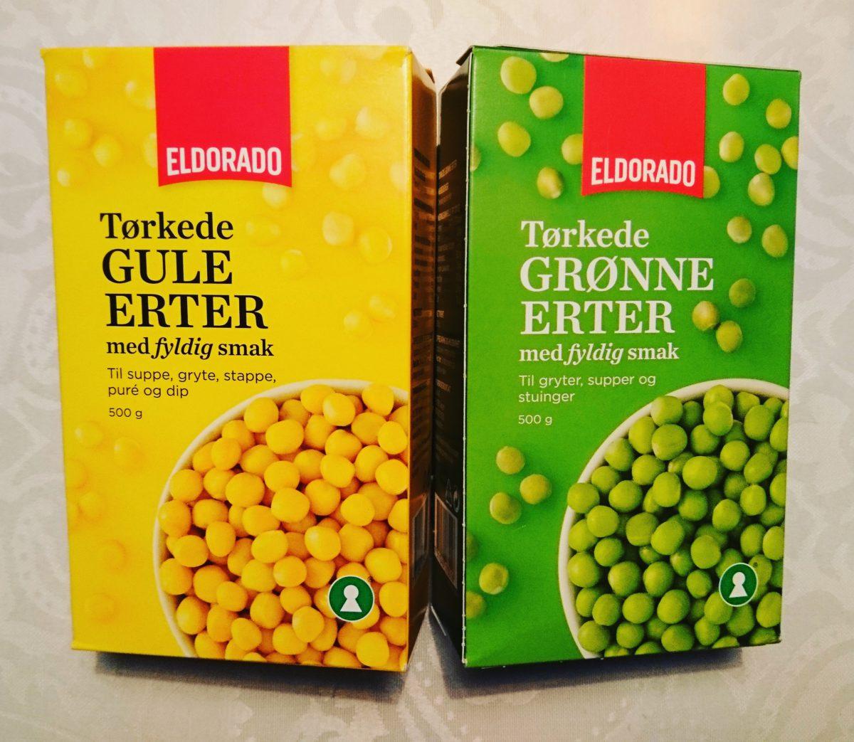 Er gule eller grønne erter størst?