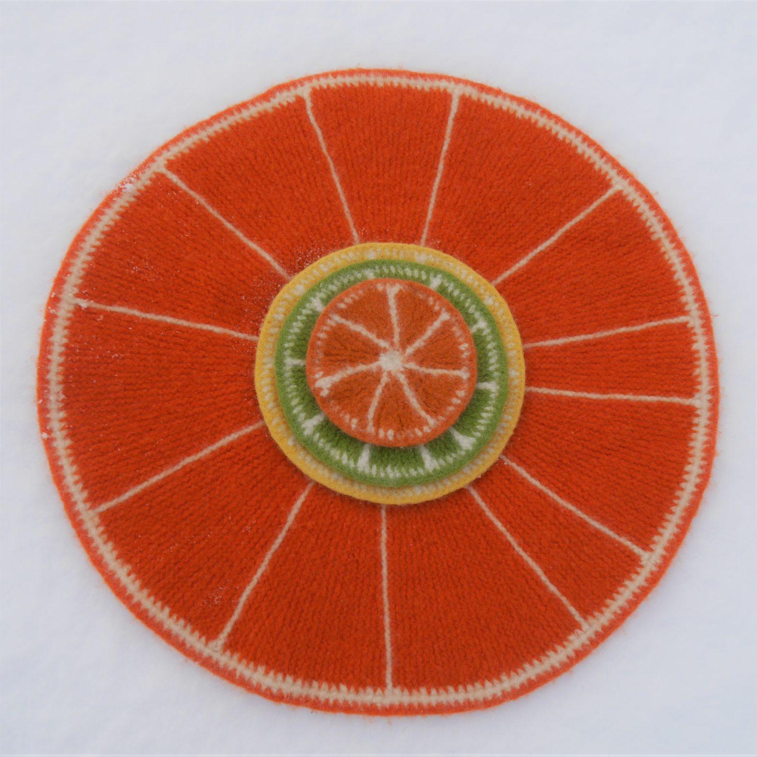 Oppskrift på sitrusfrukt-gryteunderlag