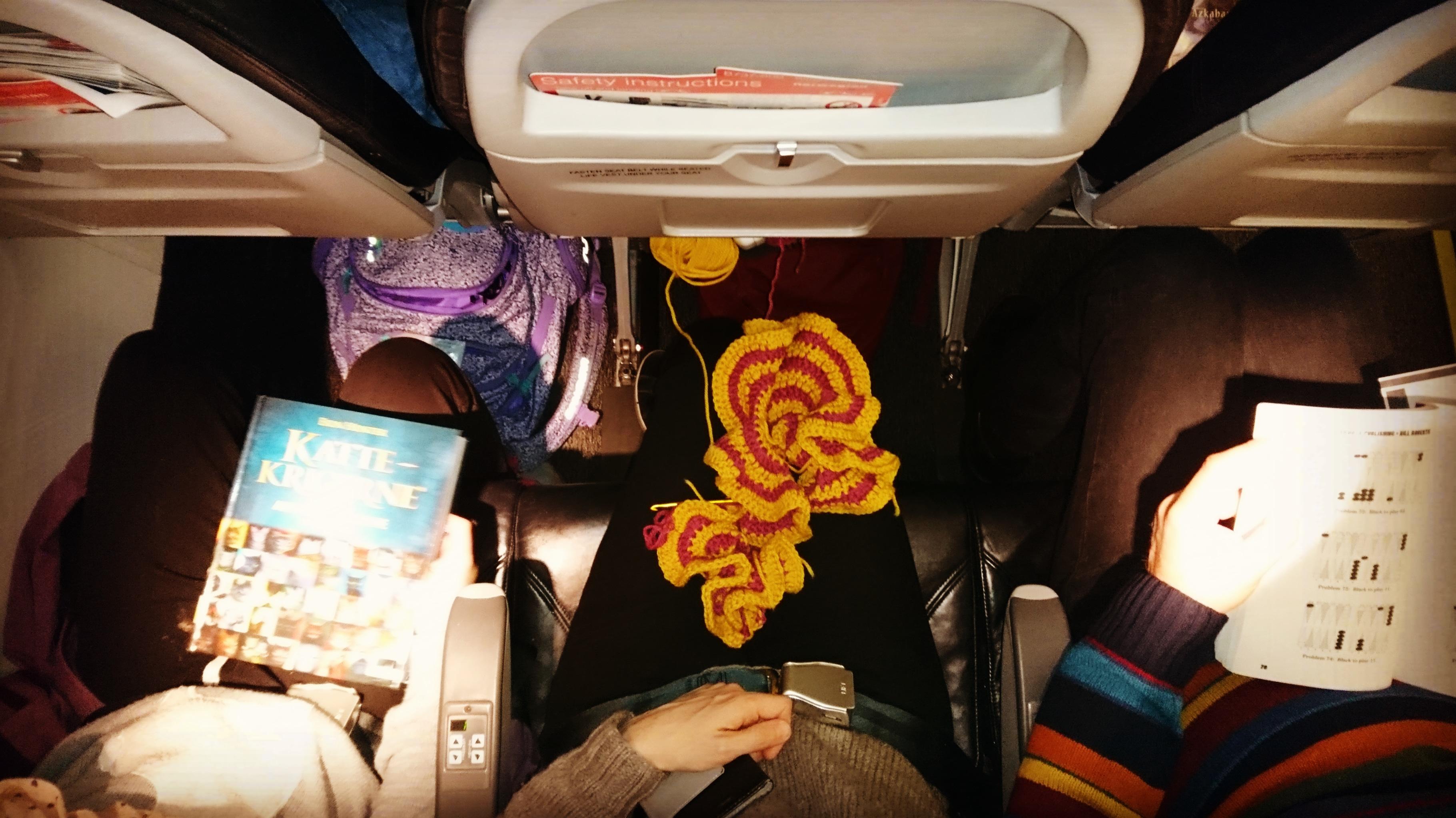 Sykdomssmitte på flyreise