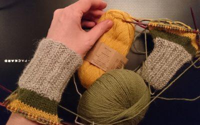 I dag har jeg strikket
