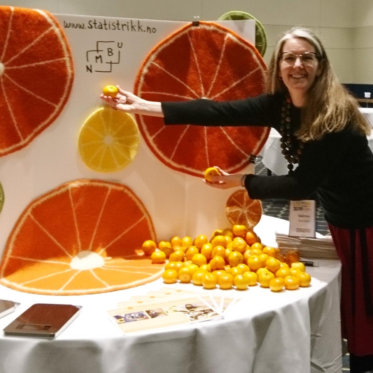 Oranges Are the New Statistics