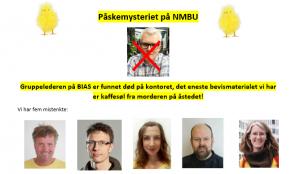Påskemysteriet på NMBU