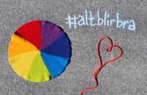 Samstrikk: #altblirbra-sitteunderlag