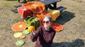 Oppskrift på appelsinsitteunderlag